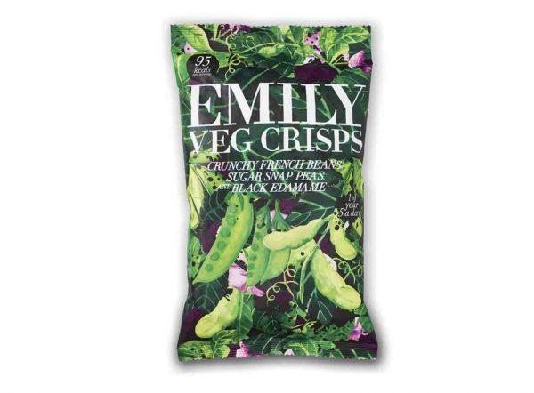 Original y saludable snack de judía verde