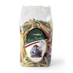 Bolda de pasta Penne tricolor